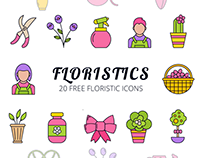 Floristic Vector Free Icon Set