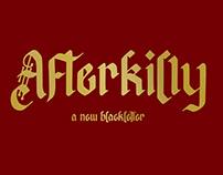 Free Afterkilly Blackletter Font