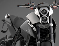 KTM Duke 690 III - Full CGI