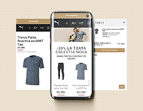 PUMA e-commerce design