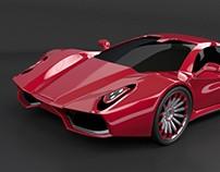 HyperOn WIP concept car