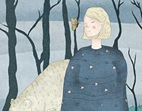 Aurora Aksnes | Illustration
