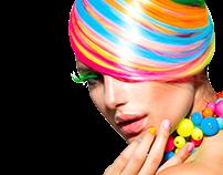 Identity for beauty salon