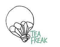 Tea Freak brand project 2013 (Uni project)