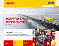 DHL Website ReDesign Concept