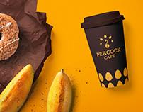 Peacock Cafe Branding