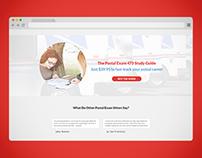 473 Postal Exam - Landing Page