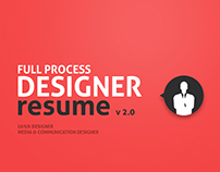 Designer Resume v 2.0