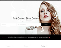 E-Commerce Theme in Progress