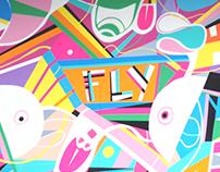 FLY MURAL
