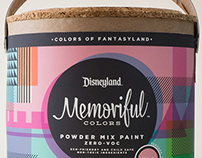 Memoriful Colors // Disneyland House Paints