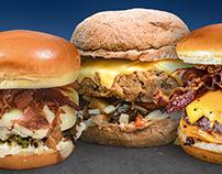 Anúncios para revista - Rock Burger