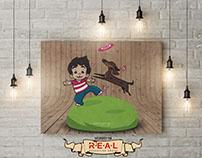 R.E.A.L Illustration