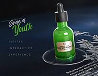 Digital Interactive Experience - Drops of Youth