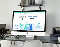 Website Ui/Ux design for Verified IM