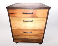 Mobile Filing Cabinet (Furniture Build)