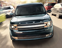 2017 Ford Flex - CGI & Retouching