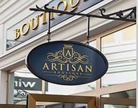 Artisan Boutique Logo, Business Card & Brochure