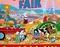 Woodstock Fair Poster