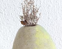 Ceramic vase /Jarrón de cerámica