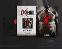 EXFEIND • Nummer Eins • v1 Postcard Design