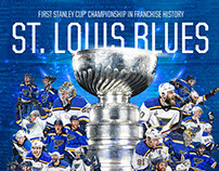 St. Louis Blues Stanley Cup Champions Graphic
