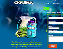 Okroshka Website