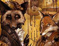 """Illustrations for the novel """"Ulysses Fox"""""""