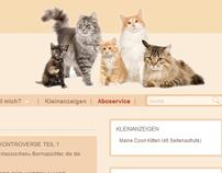 Katzenmagazine - Website