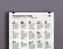 Poster Infographic Design Corporate Branding