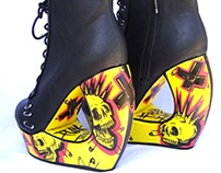 The Punx Curved Shoes