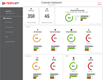 Test Jet Customer App Dashboard