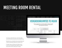 Landing page Meeting room rental