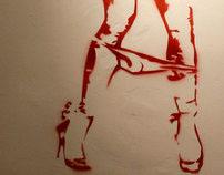 Kinky Girls Stencils