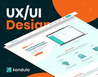 UX/UI Design | Kandula [Home & Dashboard]