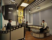 office reception cinema