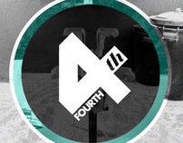 Fourth Surfboards - Logo & Branding