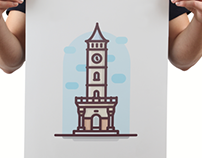 """Landmarks in Turkey v2"" Illustration - Animation"