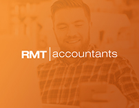 RMT Accountants branding and website