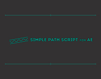 Promo Animation for Simple Path Script for AE