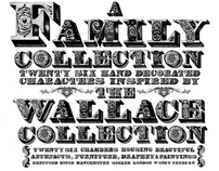"""A Family Collection"" Decorative Typeface"