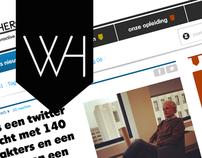Redesign Wecanbeheroes - responsive design