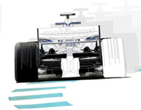 Williams F1 Interior wall graphic