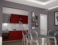 Concept restilyng appartament