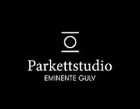 Parkettstudio – logo og spisset navn