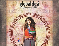 Ad and Poster Design for Global Desi