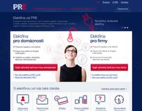 PRE website concept