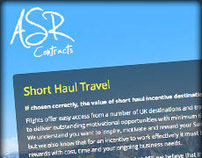 ASR Contracts - Incentive Travel Website