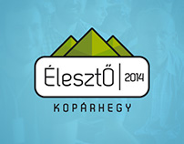 ÉlesztŐ | Summer Camp - Visual Identity