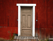 Colors and Textures around the House - in Norway